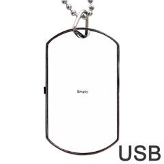 Dancers Dog Tag USB Flash (One Side)