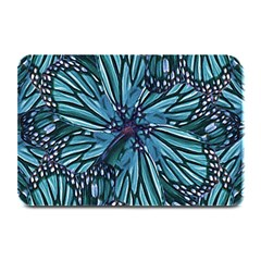 Modern Floral Collage Pattern Plate Mats