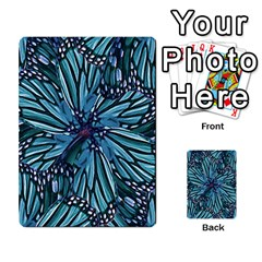 Modern Floral Collage Pattern Multi-purpose Cards (Rectangle)
