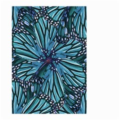 Modern Floral Collage Pattern Small Garden Flag (two Sides)