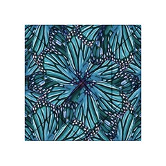 Modern Floral Collage Pattern Acrylic Tangram Puzzle (4  X 4 )