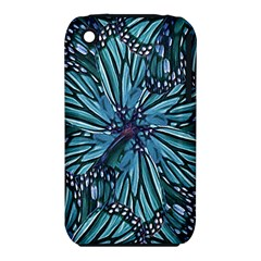 Modern Floral Collage Pattern Apple Iphone 3g/3gs Hardshell Case (pc+silicone)