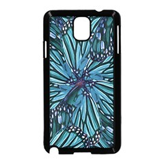 Modern Floral Collage Pattern Samsung Galaxy Note 3 Neo Hardshell Case (black)