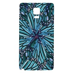 Modern Floral Collage Pattern Galaxy Note 4 Back Case