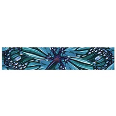 Modern Floral Collage Pattern Flano Scarf (small)