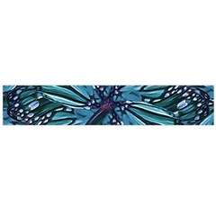 Modern Floral Collage Pattern Flano Scarf (large)