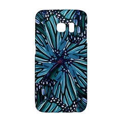 Modern Floral Collage Pattern Galaxy S6 Edge