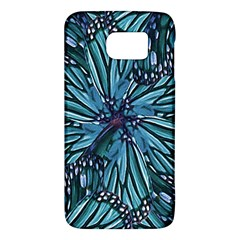 Modern Floral Collage Pattern Galaxy S6