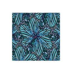 Modern Floral Collage Pattern Satin Bandana Scarf