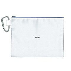 UK City Names Flag Canvas Cosmetic Bag (XL)