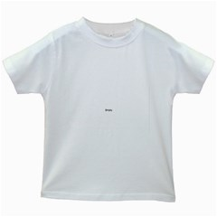 Uk City Names Flag Kids White T Shirts