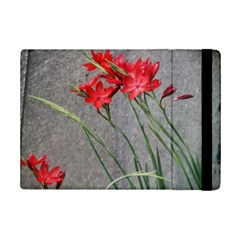 Red Flowers Apple Ipad Mini 2 Flip Case