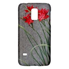 Red Flowers Galaxy S5 Mini