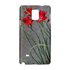 Red Flowers Samsung Galaxy Note 4 Hardshell Case