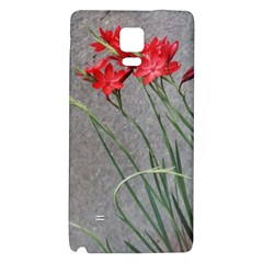 Red Flowers Galaxy Note 4 Back Case