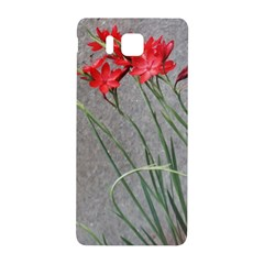 Red Flowers Samsung Galaxy Alpha Hardshell Back Case