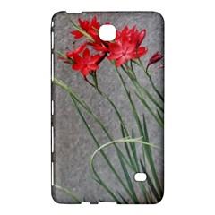 Red Flowers Samsung Galaxy Tab 4 (7 ) Hardshell Case