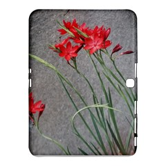 Red Flowers Samsung Galaxy Tab 4 (10.1 ) Hardshell Case