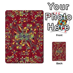Oriental Floral Print Multi-purpose Cards (Rectangle)