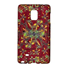 Oriental Floral Print Galaxy Note Edge