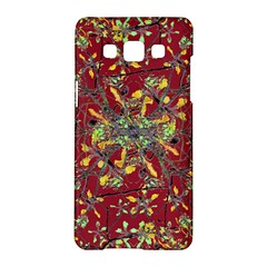 Oriental Floral Print Samsung Galaxy A5 Hardshell Case