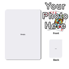 Comic Book No! Multi Purpose Cards (rectangle)