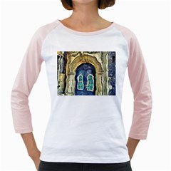 Luebeck Germany Arched Church Doorway Girly Raglans
