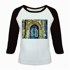 Luebeck Germany Arched Church Doorway Kids Baseball Jerseys