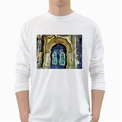 Luebeck Germany Arched Church Doorway White Long Sleeve T-Shirts