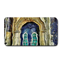 Luebeck Germany Arched Church Doorway Medium Bar Mats