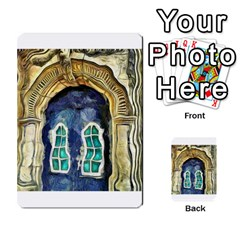 Luebeck Germany Arched Church Doorway Multi-purpose Cards (Rectangle)