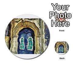 Luebeck Germany Arched Church Doorway Multi Purpose Cards (round)