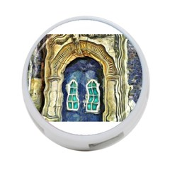 Luebeck Germany Arched Church Doorway 4 Port Usb Hub (two Sides)