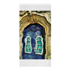 Luebeck Germany Arched Church Doorway Shower Curtain 36  x 72  (Stall)