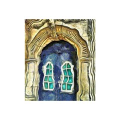 Luebeck Germany Arched Church Doorway Shower Curtain 48  x 72  (Small)