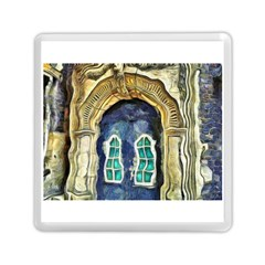 Luebeck Germany Arched Church Doorway Memory Card Reader (square)