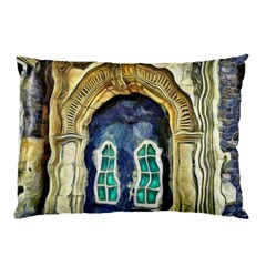Luebeck Germany Arched Church Doorway Pillow Cases (two Sides)