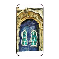 Luebeck Germany Arched Church Doorway Apple Iphone 4/4s Seamless Case (black)
