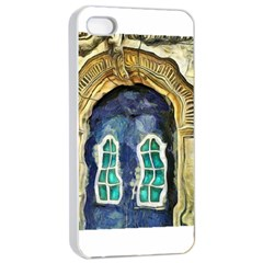 Luebeck Germany Arched Church Doorway Apple Iphone 4/4s Seamless Case (white)
