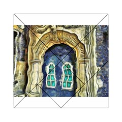 Luebeck Germany Arched Church Doorway Acrylic Tangram Puzzle (6  x 6 )