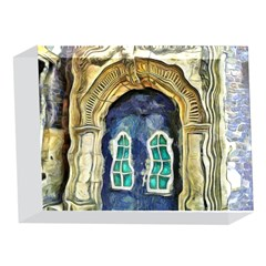 Luebeck Germany Arched Church Doorway 5 x 7  Acrylic Photo Blocks