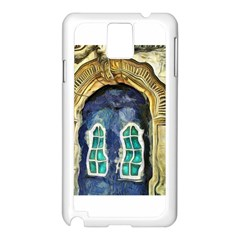 Luebeck Germany Arched Church Doorway Samsung Galaxy Note 3 N9005 Case (white)