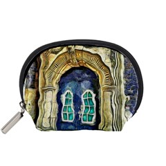 Luebeck Germany Arched Church Doorway Accessory Pouches (small)