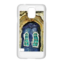 Luebeck Germany Arched Church Doorway Samsung Galaxy S5 Case (White)
