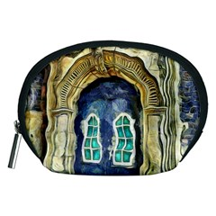 Luebeck Germany Arched Church Doorway Accessory Pouches (Medium)