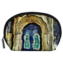 Luebeck Germany Arched Church Doorway Accessory Pouches (large)