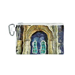 Luebeck Germany Arched Church Doorway Canvas Cosmetic Bag (s)