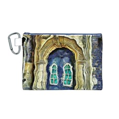 Luebeck Germany Arched Church Doorway Canvas Cosmetic Bag (M)