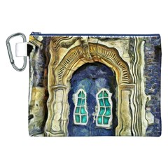 Luebeck Germany Arched Church Doorway Canvas Cosmetic Bag (XXL)