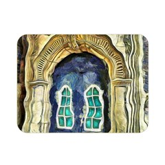 Luebeck Germany Arched Church Doorway Double Sided Flano Blanket (Mini)